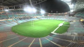the transformation of anz stadium from afl to nrl field