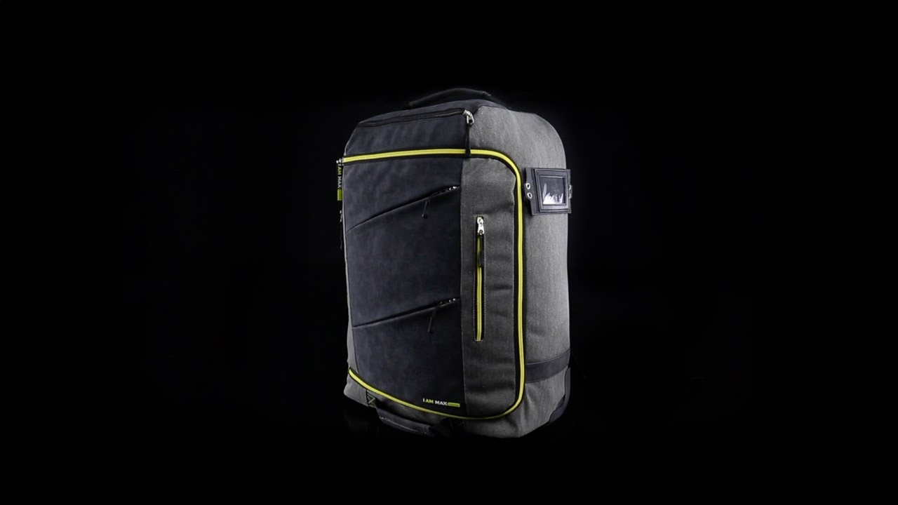 d1a215dde Discover the Manhattan - The Ultimate Travel Bag - Cabin Max - YouTube