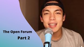 THE OPEN FORUM EP 2: Im Bisexual