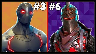 RANKING EVERY BATTLE PASS SKIN FROM WORST TO BEST! (Fortnite Battle Royale!)