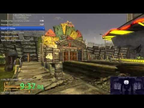 Fallout New Vegas Globe Trotter% 17:36 w/o loads