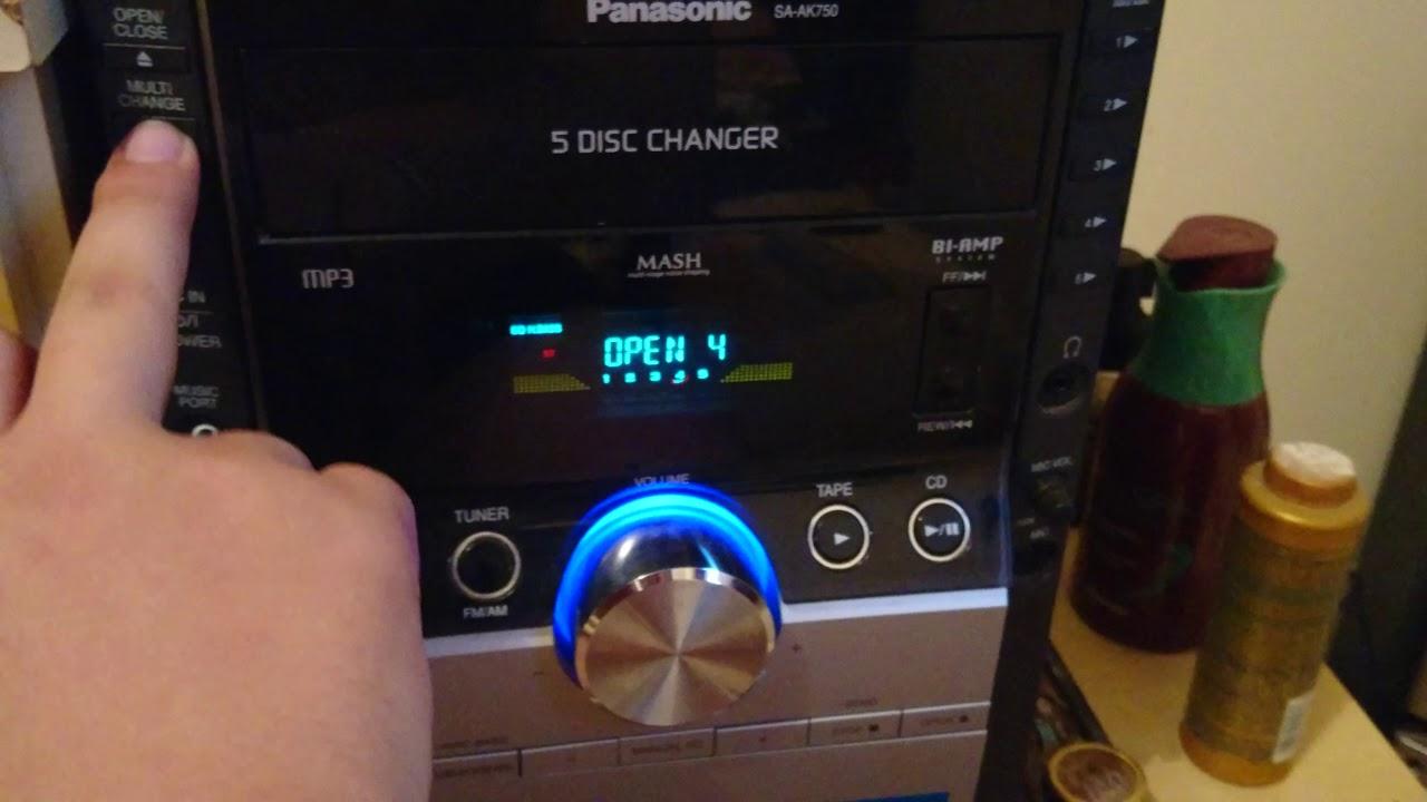 Panasonic Sa-ak750