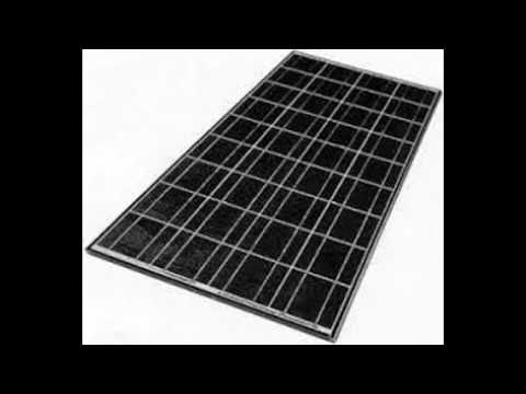 when are solar panels used for