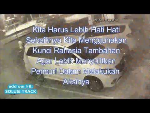 CCTV Aksi Pencurian Mobil Kijang Innova Syekh Ali~ SOLUSI TRACK