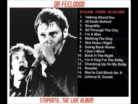 DR FEELGOOD...STUPIDITY THE LIVE ALBUM