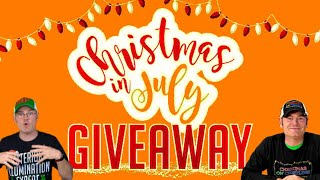 Christmas In July Extravaganza   Giveaway Week 3