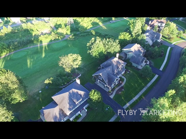 Michigan Drone Marketing | Fly By Marketing | Aerial House