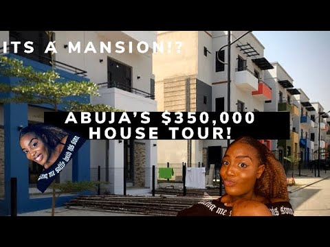 Luxury home tour in NIGERIA   EXPENSIVE houses in ABUJA,NIGERIA