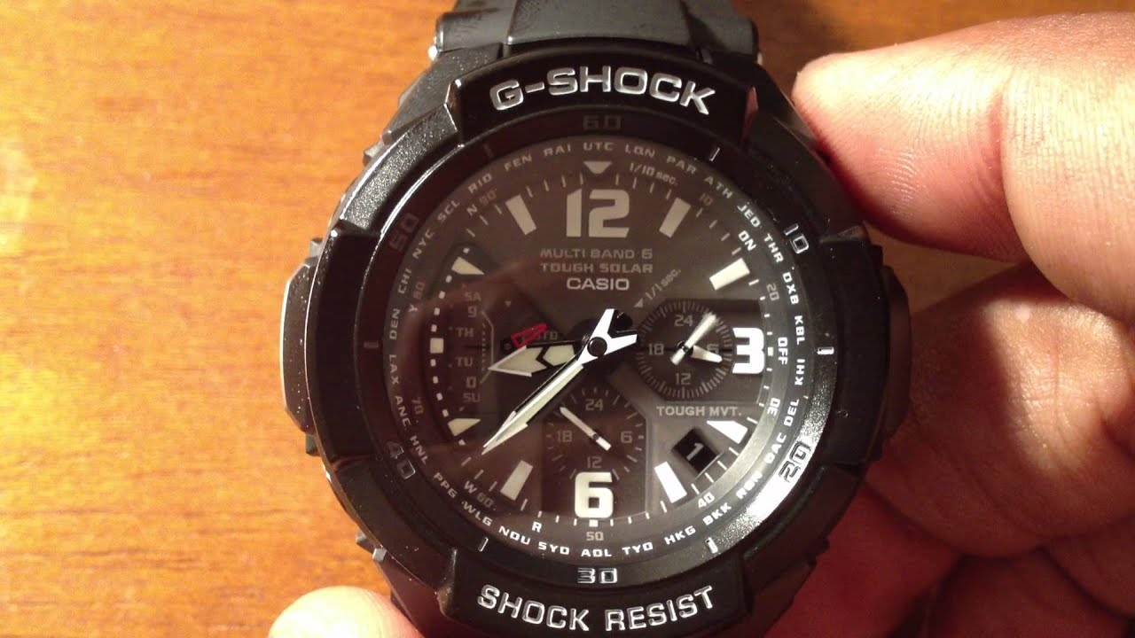 review of casio g shock gw3000bb 1a youtube rh youtube com G-Shock 3230 Manual casio g shock 5121 user manual