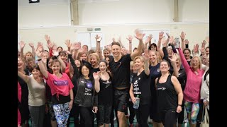 FitSteps with Tracey's Highlights of FitSteps class with Ian Waite