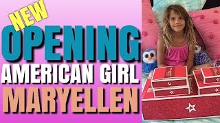 Opening American Girl Doll MaryEllen Larkin