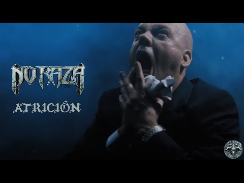 No Raza - Atrición (official UHD 4K music video) | Death Metal | Noble Demon