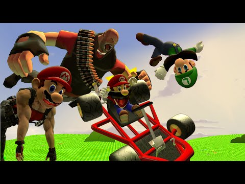 Thumbnail: Retarded64: Mario for Hire.