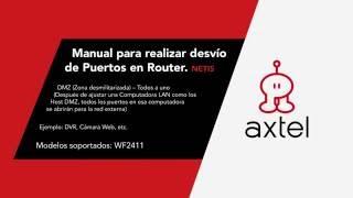 Manual para realizar desvio de Puertos en Router - Netis.