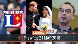 PH on Chinese bombers, LP's 'The Resistance' slate, Royal Wedding   Midday wRap