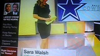 Sara Walsh!