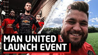 Exclusive Manchester United Launch Event at Carrington!