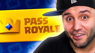 I BUY THE COLD BLOODED PASS ROYAL! Clash Royale