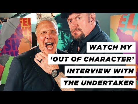 Walter Brown - WWE Legend, THE UNDERTAKER,  chats  with  pastor Ed Young.