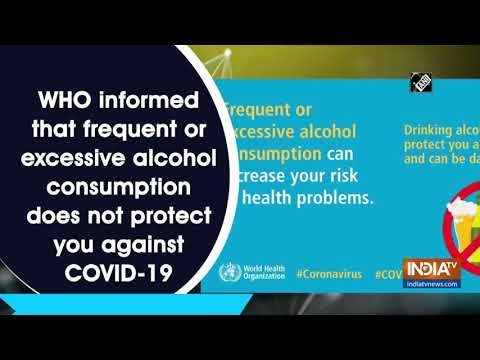 Excessive alcohol consumption may increase risk of COVID-19: WHO