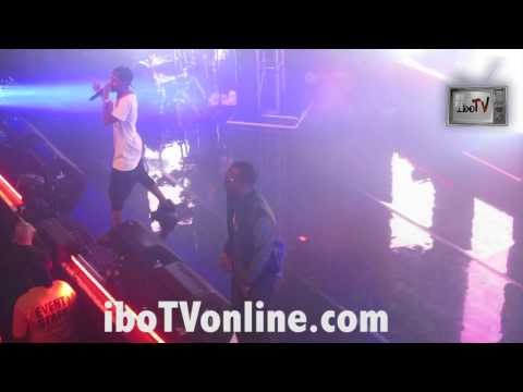 """Big Sean Brings Out Juicy J Performs - """"Show Out"""" Live Hall Of Fame Release Show NYC iboTV DJ Zeke"""