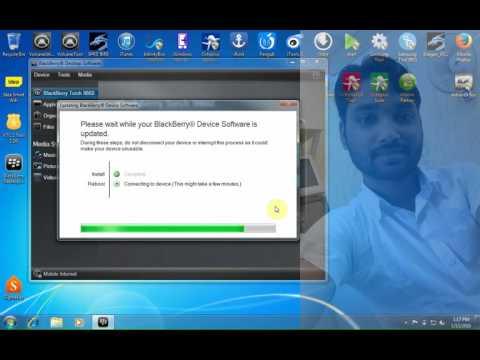 BlackBerry Torch 9860 Flashing By Blackberry Desktop Software