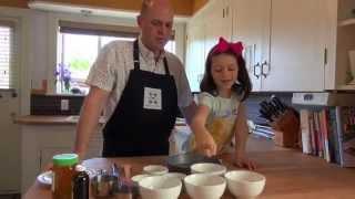 Lila's Rhubarb Jewel Cake