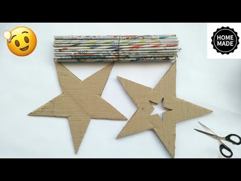 Best out of waste craft ideas | Newspaper craft ideas | best use of old newspaper | #HMA481