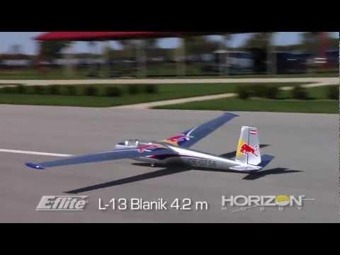 L-13 Blanik 4.2m ARF By E-flite