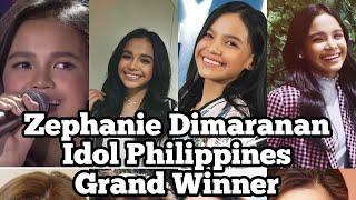 Zephanie Dimaranan | Idol Philippines Winner