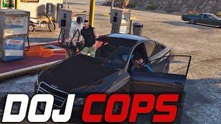 Dept. of Justice Cops #457 - Wild & Random
