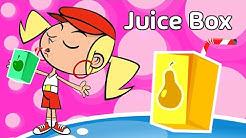 Kids song JUICE BOX | funny animated children's music videos | kid songs by Preschool Popstars
