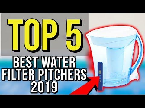 ✅ TOP 5: Best Water Filter Pitcher 2019
