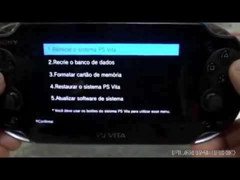 PS Vita - How To Get The Recovery Menu
