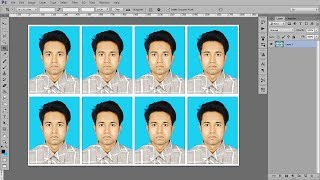 Photoshop tutorial: create Passport size Photo in adobe Photoshop CC