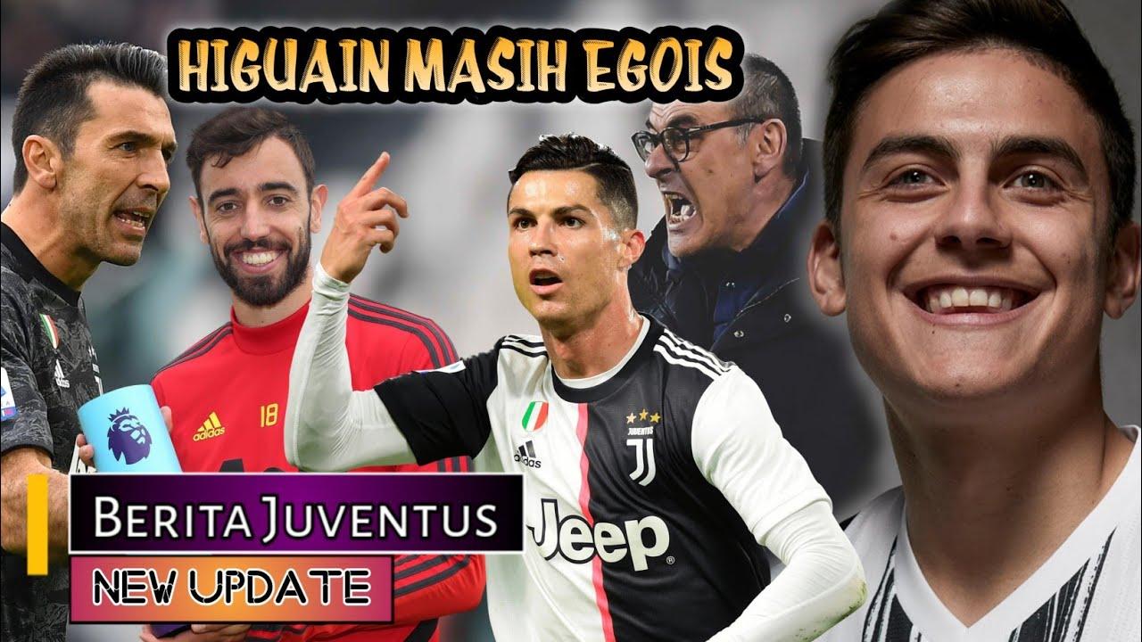 Bukan Higuain, Ronaldo ingin Dybala🤔Sarri puji tekad CR7🤨Lawan Roma Latihan dihapus😖BERITA JUVENTUS🔴