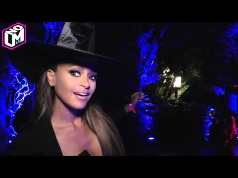 Maxim Halloween Mansion Party Karrueche Tran Kendra Wilkinson Claudia Jordan thumbnail