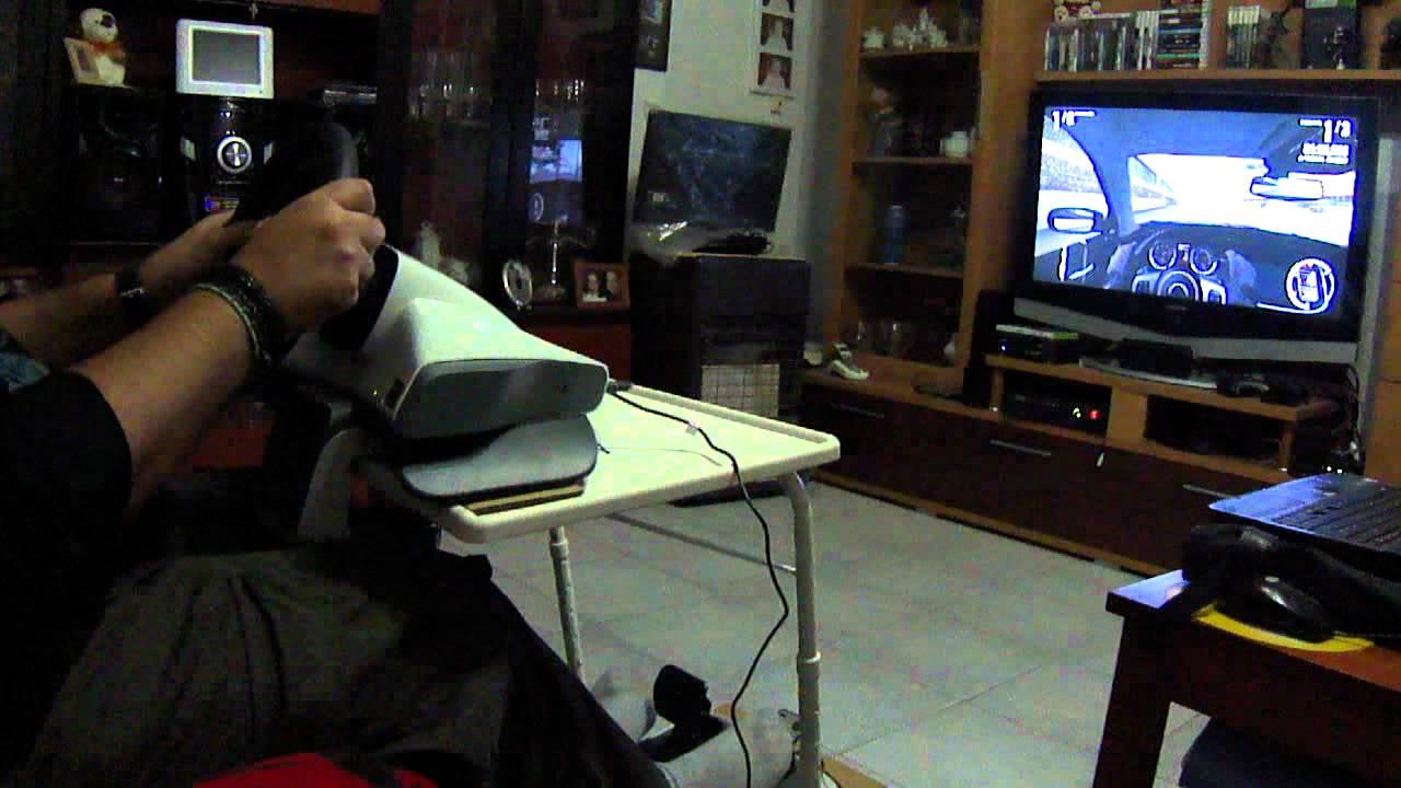 Xbox 360 Volante Oficial Y Mesa De Los Chinos Gameplay Espanol