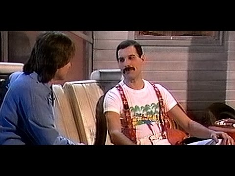 Freddie Mercury  About MrBad Guy 1985