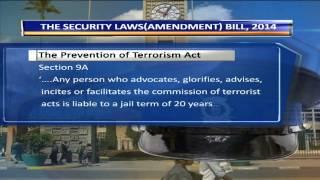 Security Laws Amendment Bill