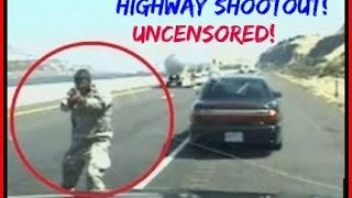 RAW FOOTAGE: ► Suspect Killed after Shootout on I-84 in Oregon