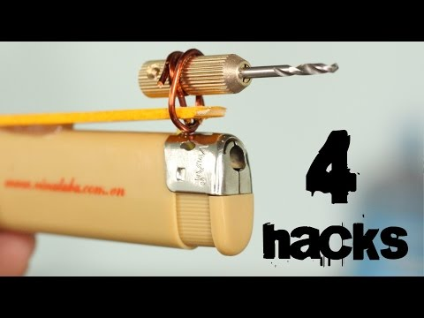 4-crazy-tools-from-a-lighter-you've-never-seen-before-|-lighter-hacks