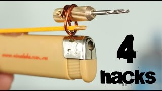 4 crazy Tools from a Lighter You've Never Seen Before | Lighter Hacks