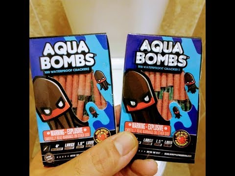 Aqua Bombs - What not to do with Fireworks - RA Brand