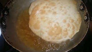Bhatura Recipe - How to Make Bhatura - Bhature Recipe Step by Step -  Bhature Recipe