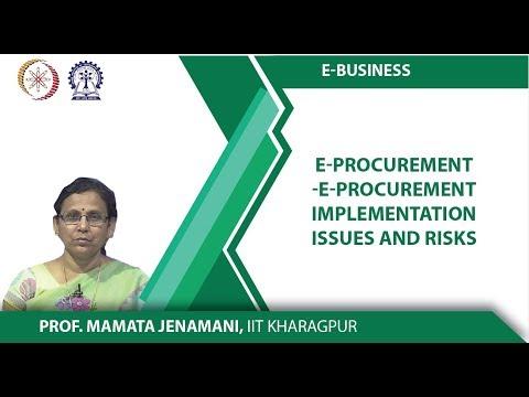 E-procurement e-procurement Implementation issues and risks