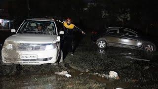 My Car Stuck In Borewell In AutoExpo 2020 😭😭