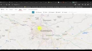 Agrega mapas con coordenadas GPS en Power BI Desktop