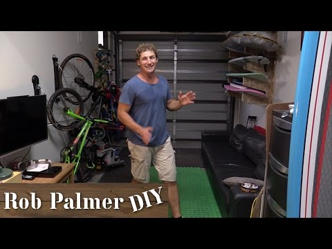 Simple Garage Storage Solution | Rob Palmer DIY