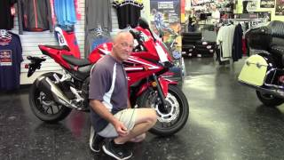 CBR500 Showroom Review